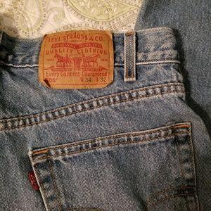 Levi's 505 34 x 32 reg, straight. Mens jeans